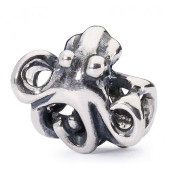 Trollbeads Charm Pieuvre Argent TAGBE-20074