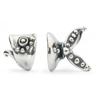 Trollbeads Charm Poisson Argent TAGPE-00020