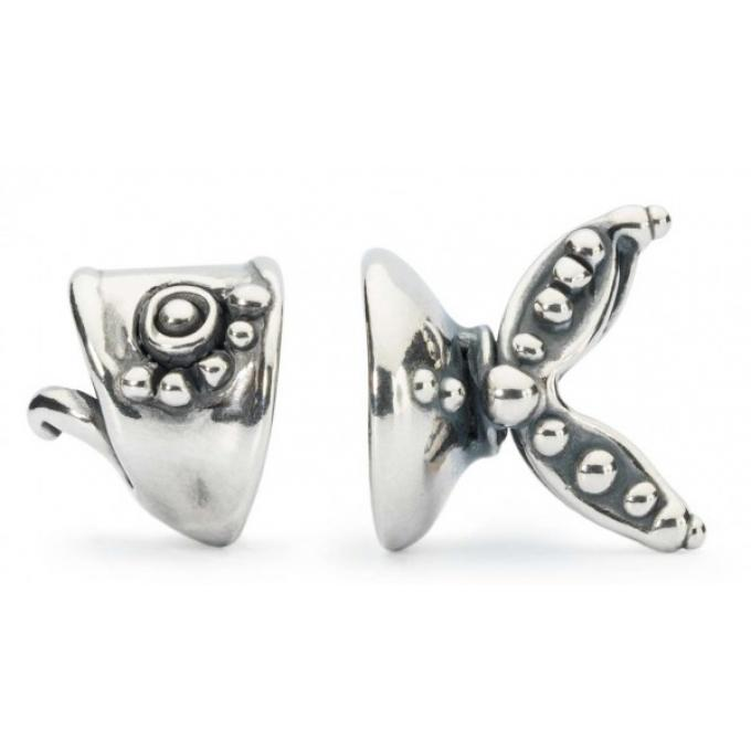 Trollbeads Charm Poisson Argent TAGPE-00020 Trollbeads